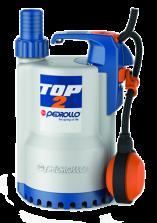 Дренажный электронасос для агрессивных жидкостей Pedrollo TOP-2  LA 0.37 кВт