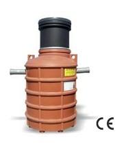 Separator grasimi necar.l(aquaClean)V-PEHD subteran NG2 Vert