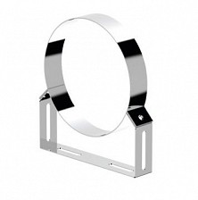 Ø180 Clema de fixare tub telescopica (inox 304)