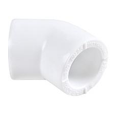 Угол полипропиленовый на 45° d25 мм