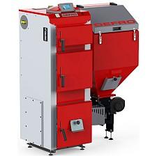 Cazan pe combustibil solid Defro Duo Uni 15 kW
