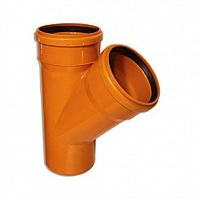 Ramificatie PVC scurg exterioara 45° 160 x 125