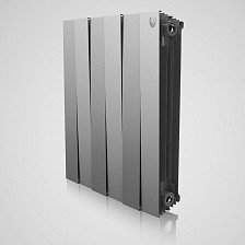 Биметаллический радиатор Royal Thermo Pianoforte silver 500