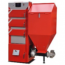 Cazan pe combustibil solid Stalmark DUO PID 36 kW