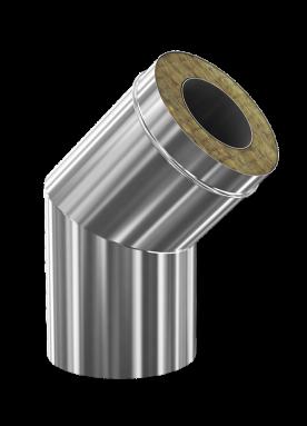 d. 200 - 280 Угол дымоходный 45° (430 - 304)