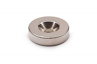 Magnet neodim DISC D15 - 7/3 х H5 pentru surub